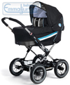 Emmaljunga Edge Duo Combi Black Blue