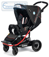 Emmaljunga Scooter S Black Red